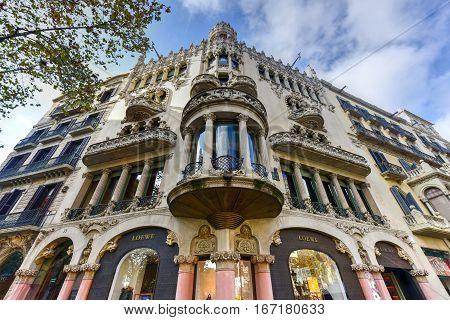 Casa Mulleras - Barcelona, Spain