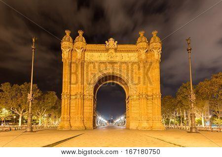 Arc De Triomf - Barcelona, Spain