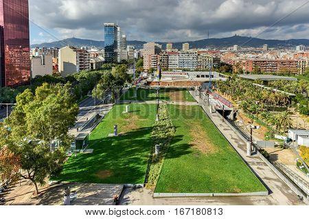 Parc De Joan Miro - Barcelona, Spain