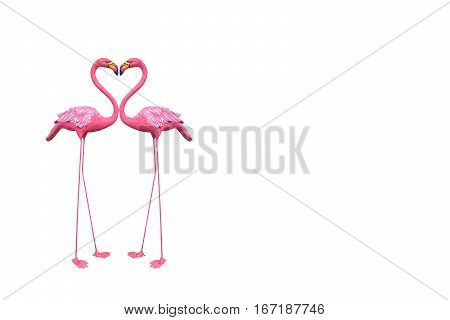 background white pink stucco statue valentine colorful