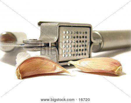 Garlic With Press