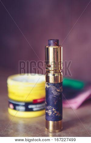Mech Mod Vaping Smoking Device Polish Process