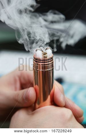 Rebuild Vaping Device Gadget For Vaper