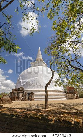 The Ruins Of Polonnaruwa Sri Lanka. Polonnaruwa Is The Second Most Ancient Of Sri Lankas Kingdoms