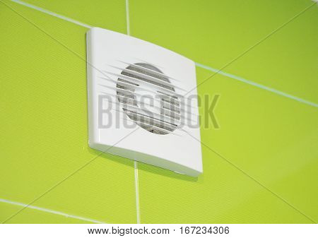 Bath vent fan installation. Bathroom ventilation system.