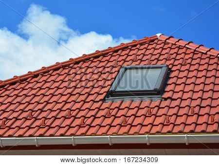 Modern Roof Skylight. Attic Skylights Home Design.