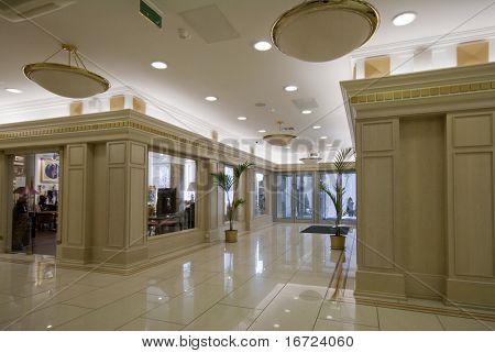 Luxus-Lobby-Innenraum-Foto