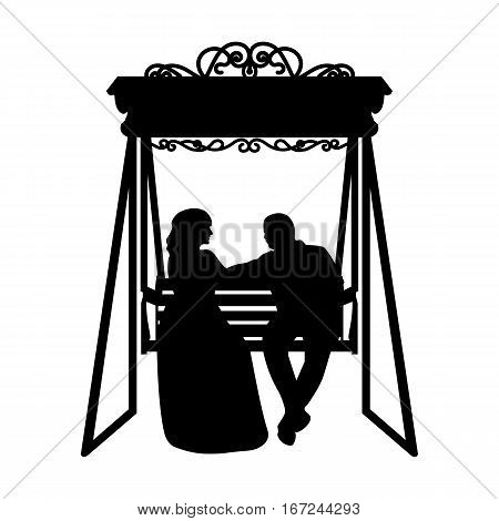 Bride And Groom Silhouette Clipart Black White