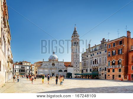 The Santa Maria Formosa On Square Of The Same Name, Venice