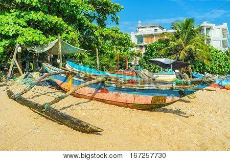 Sri Lankan Catamaran Boats