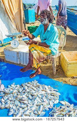 The Old Fish Dealer