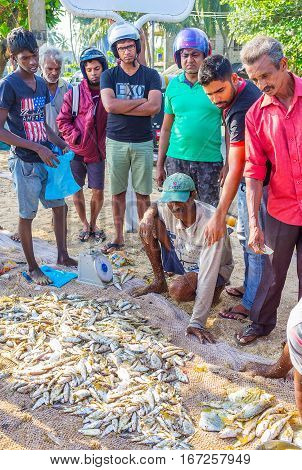 The Clients Of Fishing Market