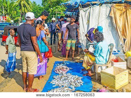 Visiting Fish Market