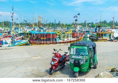 Transport In Harbor