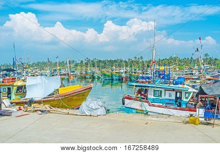 The Weekdays Of Fishing Port
