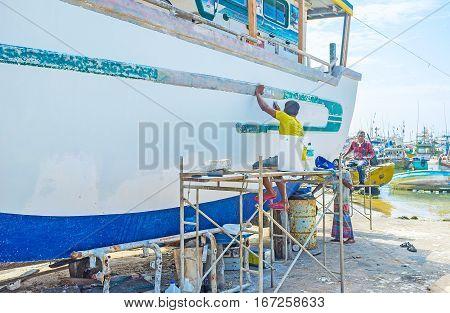 Repair Of The Ship