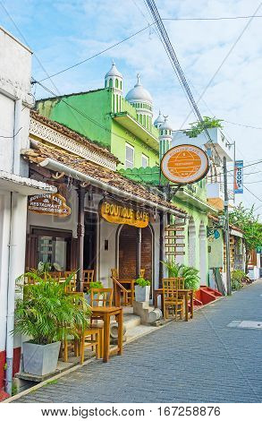 Cafe In Old Town