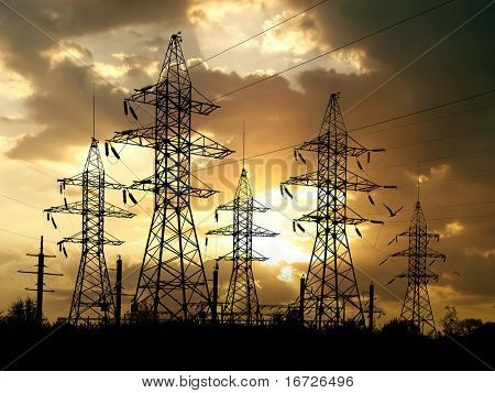 Energy towers.