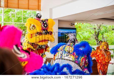 Lunar New Year Asian Dragon Coming Vietnamese New Year