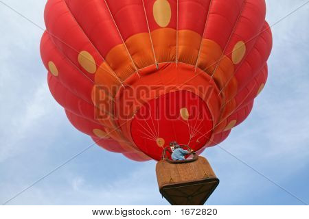 Ascending Strawberry Balloon