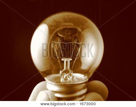 Unlit Light Bulb