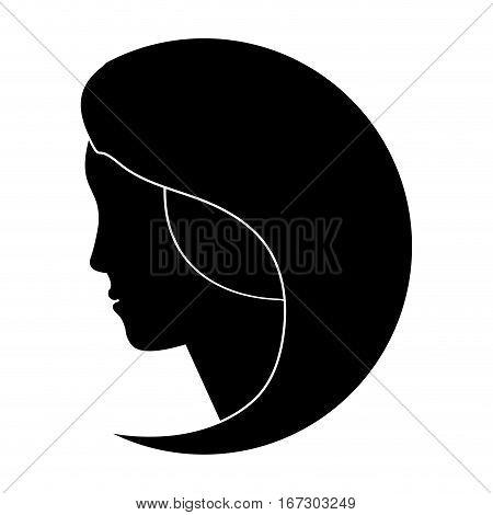 black feminist defense image icon, vector illustration design