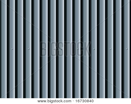 Corrugated surface seamless pattern.