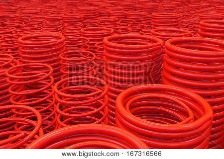 Metal And Plastic Springs And Coils