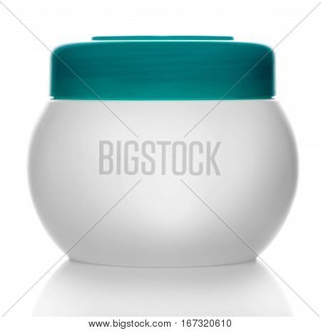 a tube of cosmetic isolated on white background