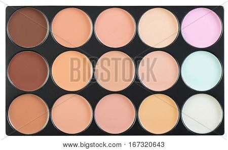 cosmetic product for skin care facial concealer
