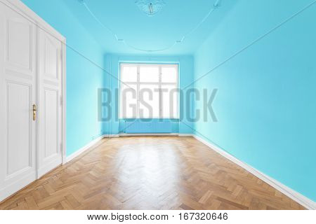 New Flat In Old Building - Empty Room