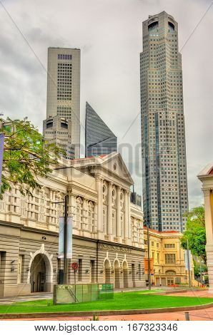 The Victoria Theatre and Concert Hall in Singapore