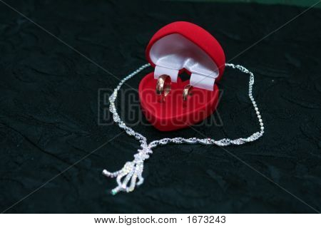 Wedding Rings And Chain