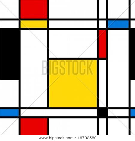 Seamless abstract geometric colorful vector pattern for continuous replicate. poster
