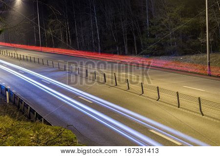 Long Exposure Tail Lights