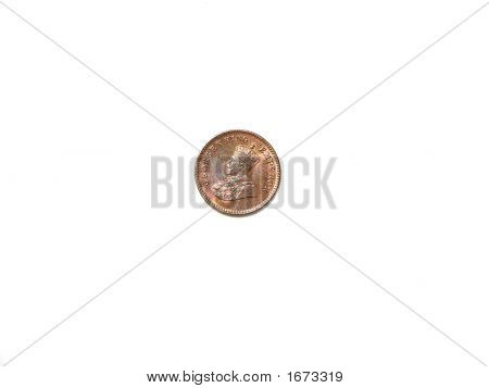 Indian Coin - Twelfth Anna