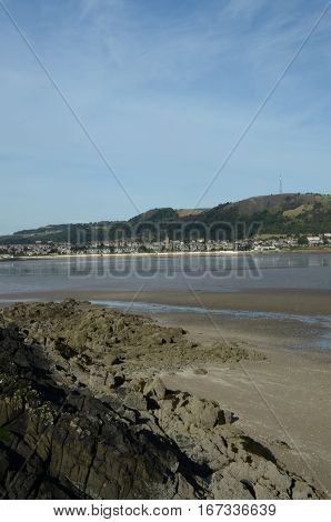 A view toward Burntisland from the Black rocks