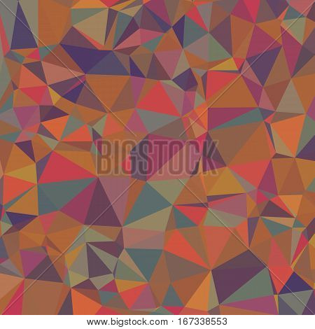 Colored Abstract Texture of Asymmetric Triangles. Background of Geometric Shapes.