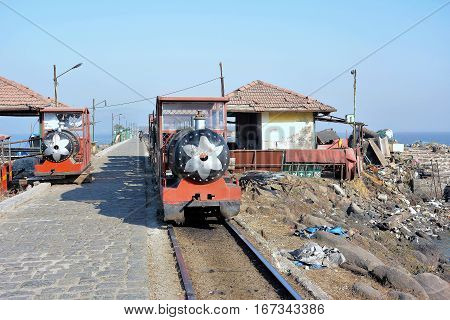 Elephanta Island Toy Train