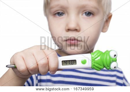 Boy With Fever