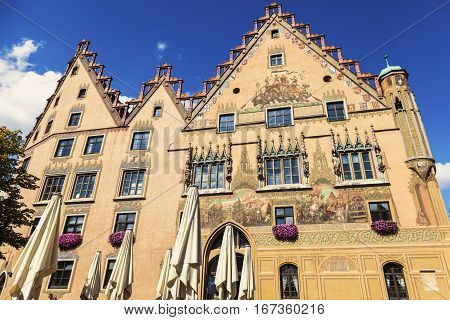 Ulm Town Hall. Ulm Baden - Wurttemberg Germany.