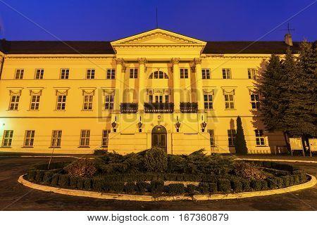 Kalisz Powiat office building. Kalisz Greater Poland Poland.