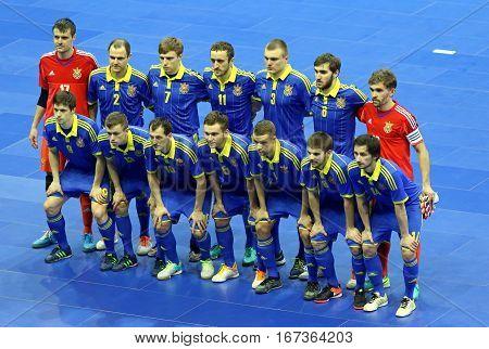 Futsal Friendly Match Ukraine V Spain