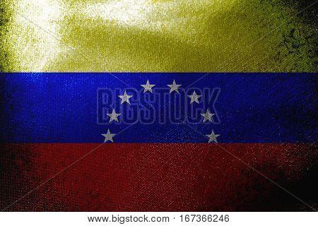 Venezuela  flag ,Venezuela national flag 3D illustration symbol