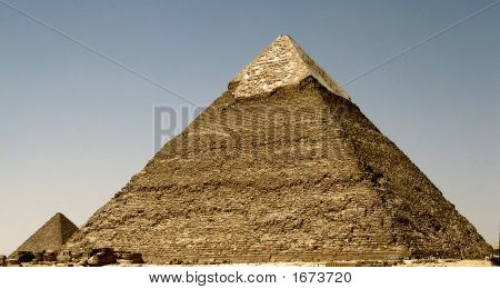 Ancient Pyramids At Cairo