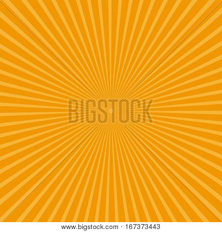 radiant backdrop with ray sunburst vector illustration