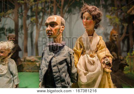 Marionette Installation In Hohensalzburg  Castle. Salzburg, Austria.