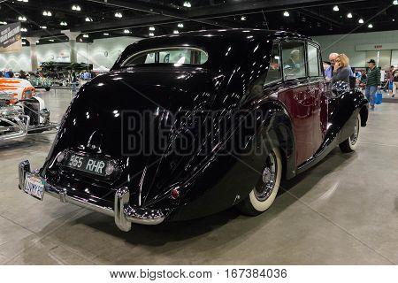 Rolls-royce Silver Wraith Touring Limousine Hooper