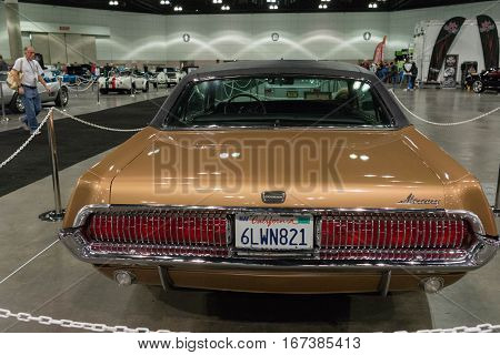 Mercury Cougar On Display