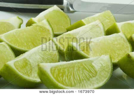 Fresh Cut Limes